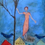 Dancing On The Rooftop (sold)