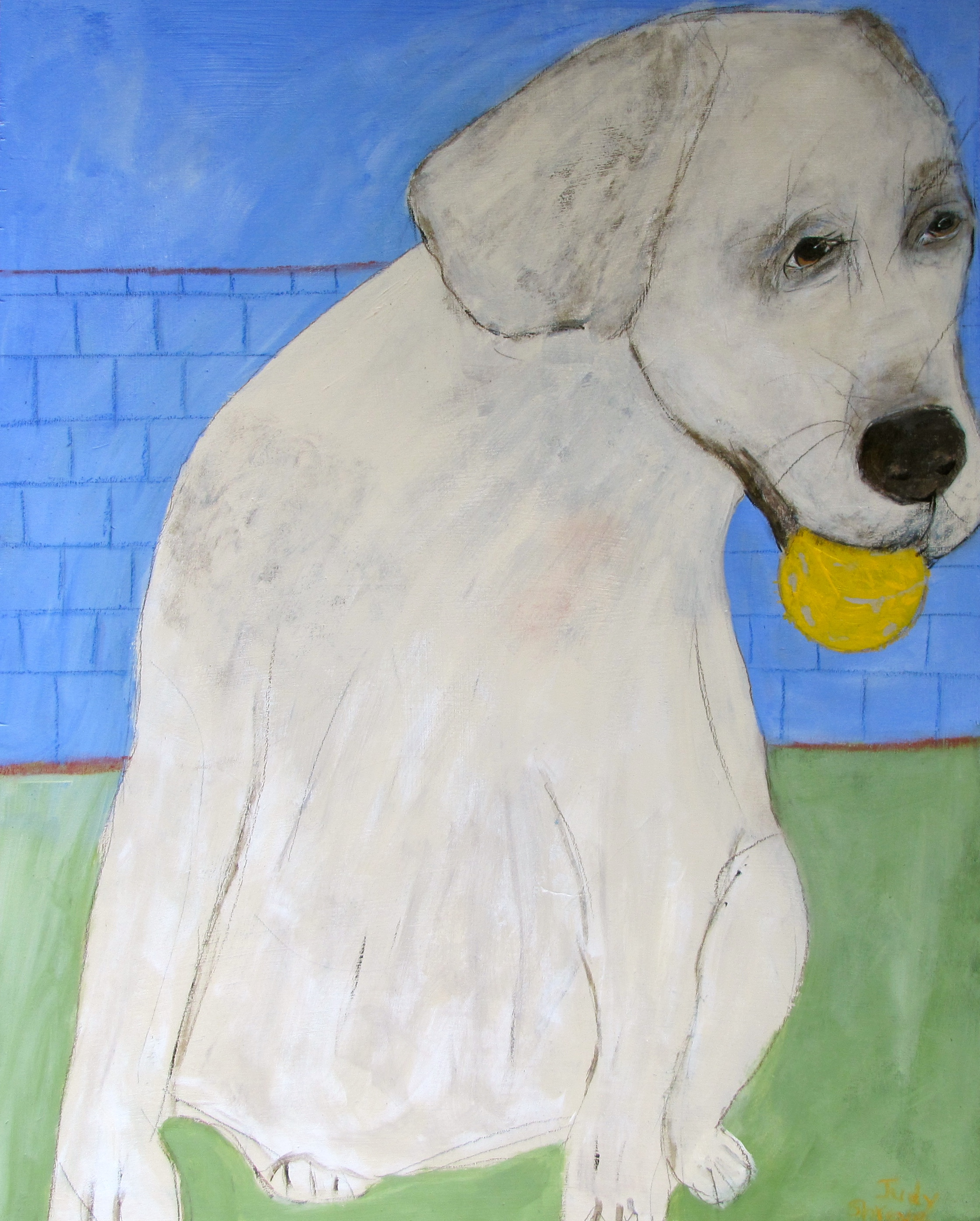 Good Dog (22.5x18):Judy Shreve