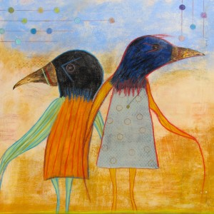 Birds Of A Feather (25.5x25.5)