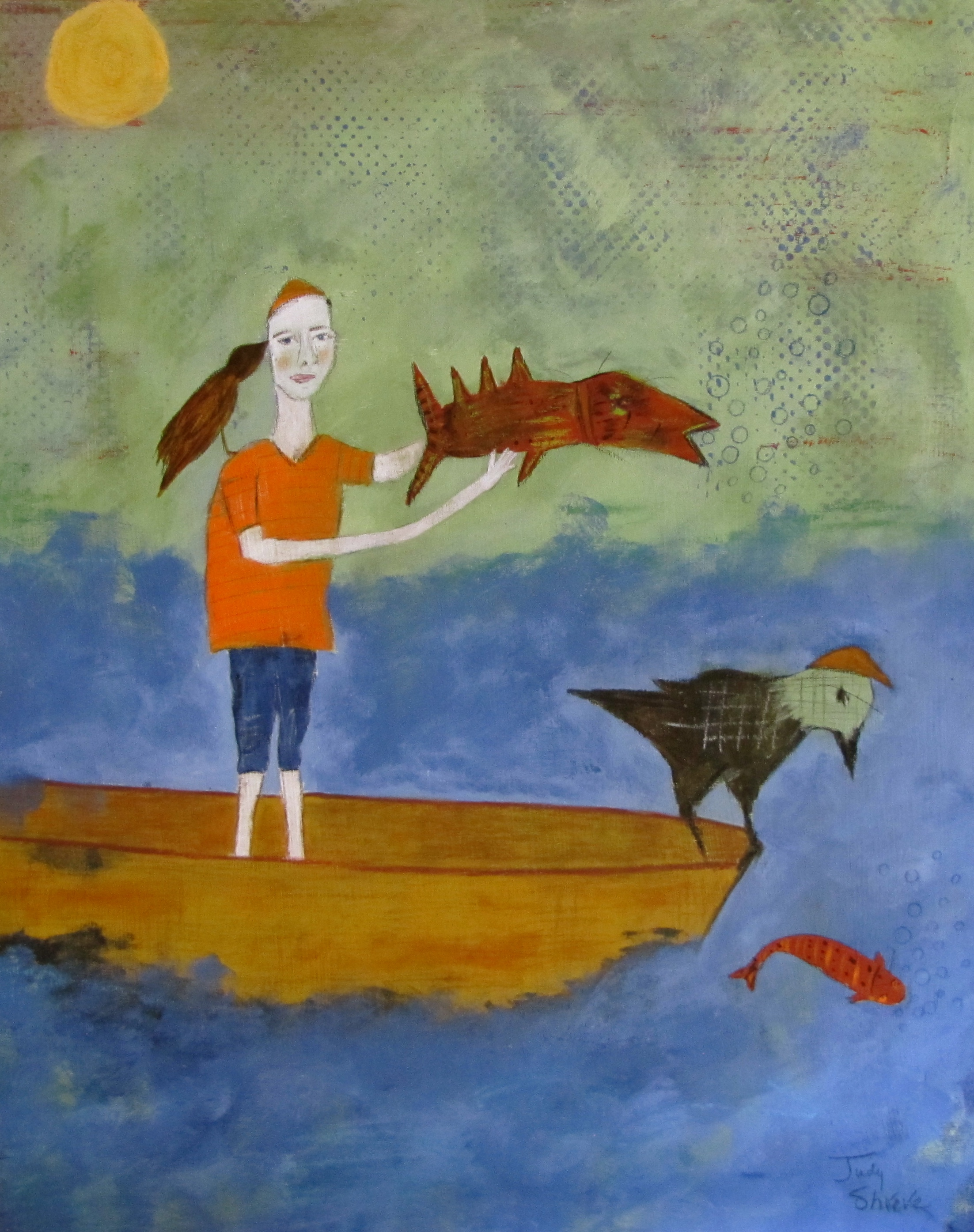 How to catch the really big fish judy shreve for Catching the big fish