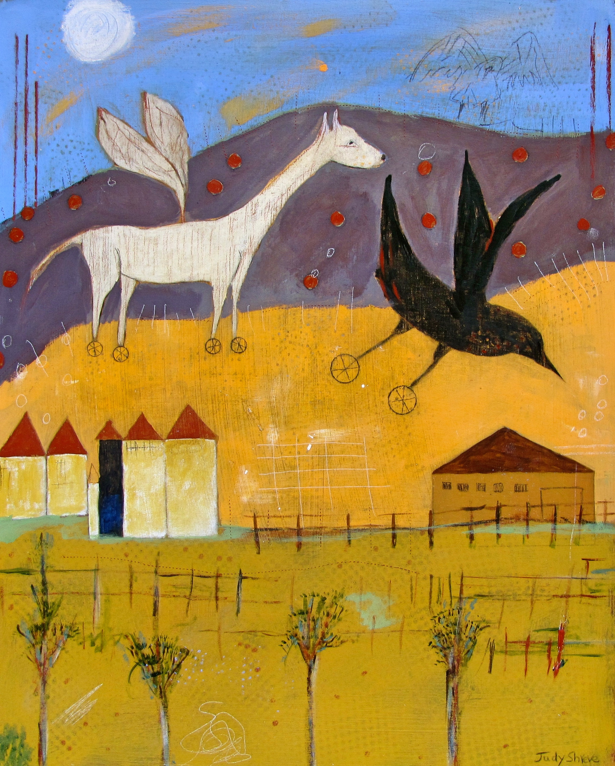 Learning to Fly(22.5x18):Judy Shreve